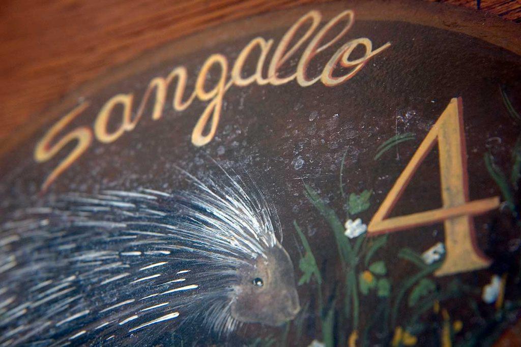 agriturismo san gallo toscana italia dettaglio ingresso