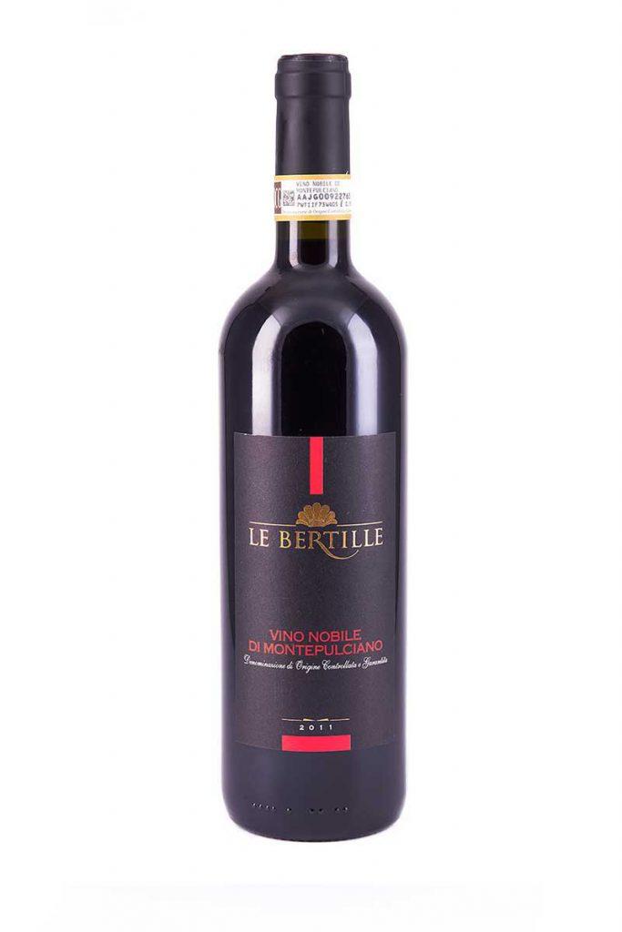 vino nobile di montepulciano cantina le bertille Toscana Italia